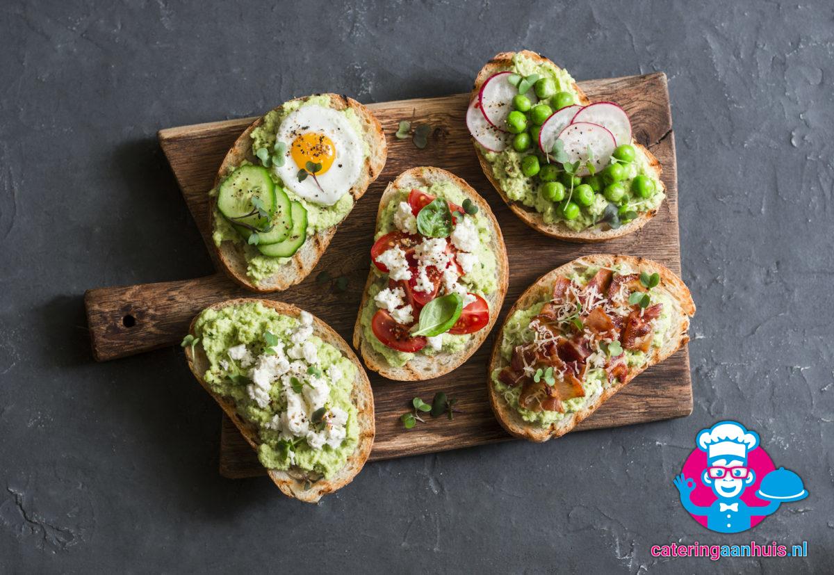 Belegde broodjes bewust gezond catering huis
