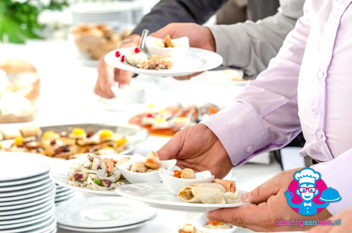 Lunchbuffet catering aan huis