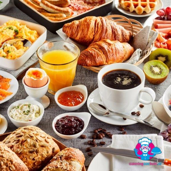 Ontbijtbuffet catering aan huis