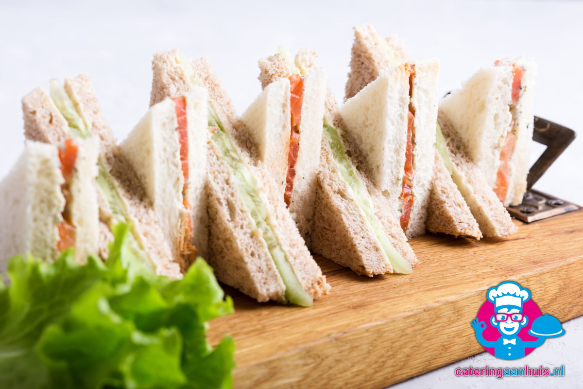 Sandwiches bestellen catering huis