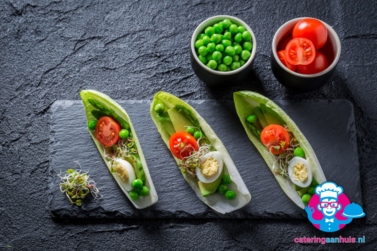 Witlof gezond hapje catering aan huis