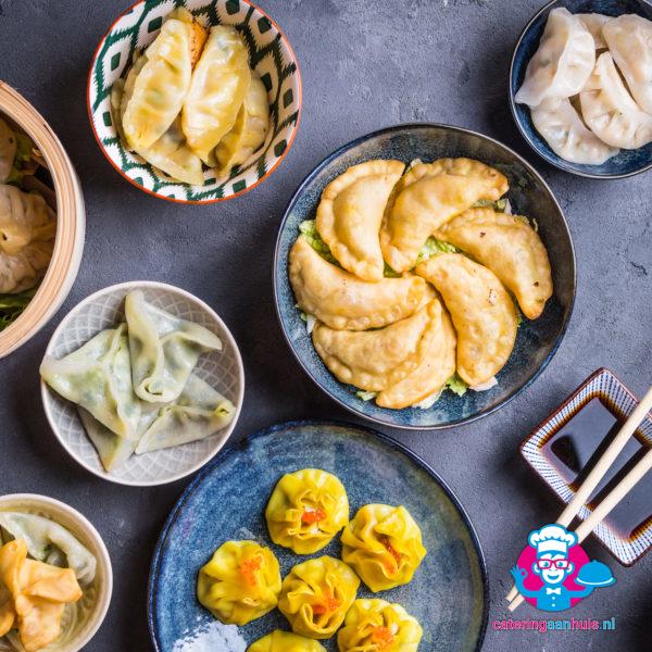 Aziatisch tapas buffet - catering aan huis