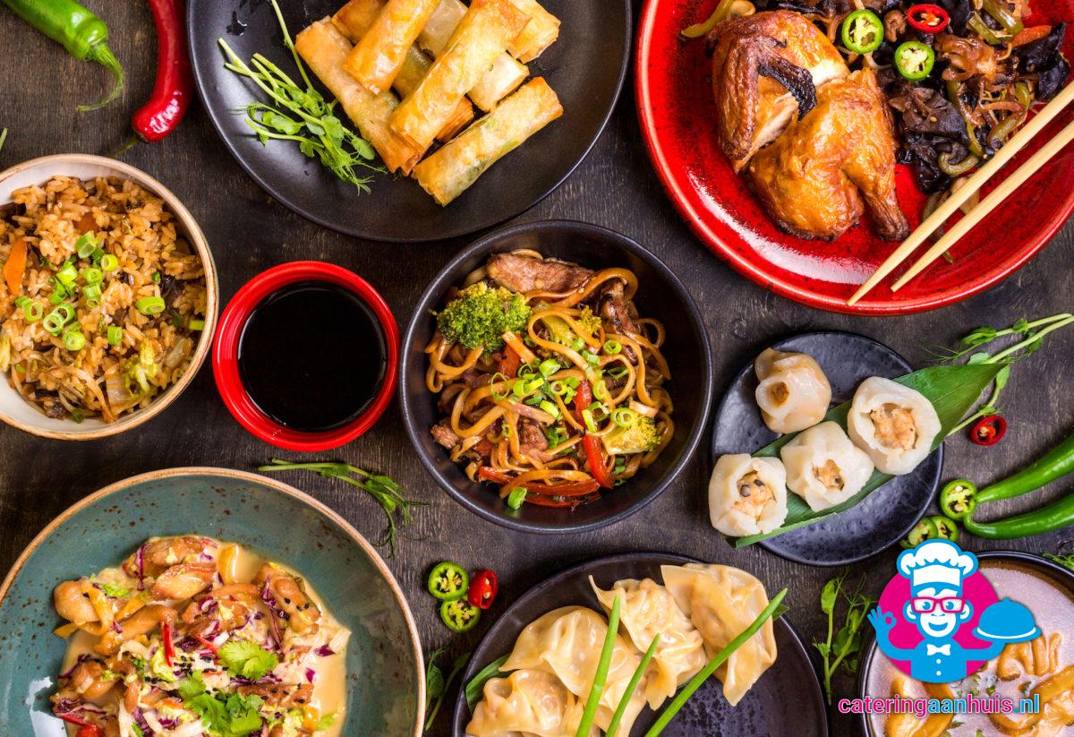 Aziatische hapjes - catering aan huis