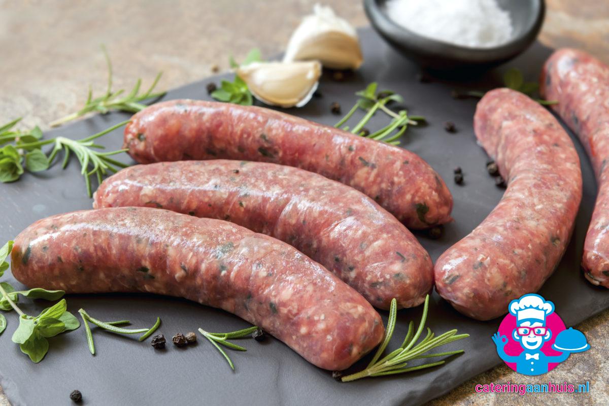 Barbecueworst - Barbecue vlees - Catering aan huis