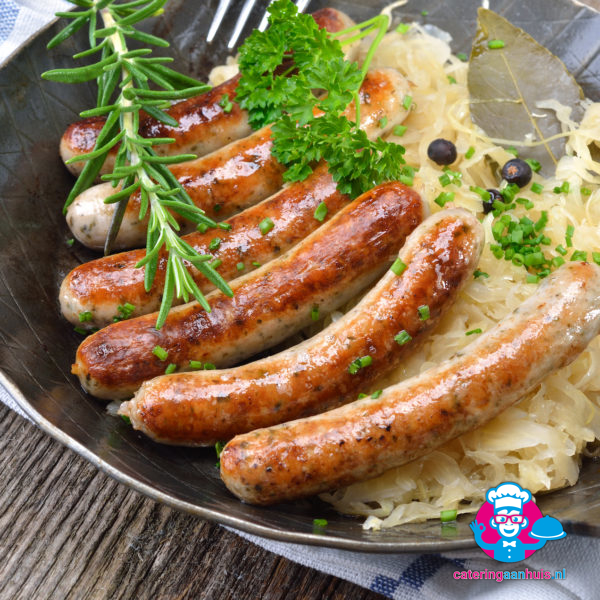 Bratwurst Duits buffet - Catering aan huis