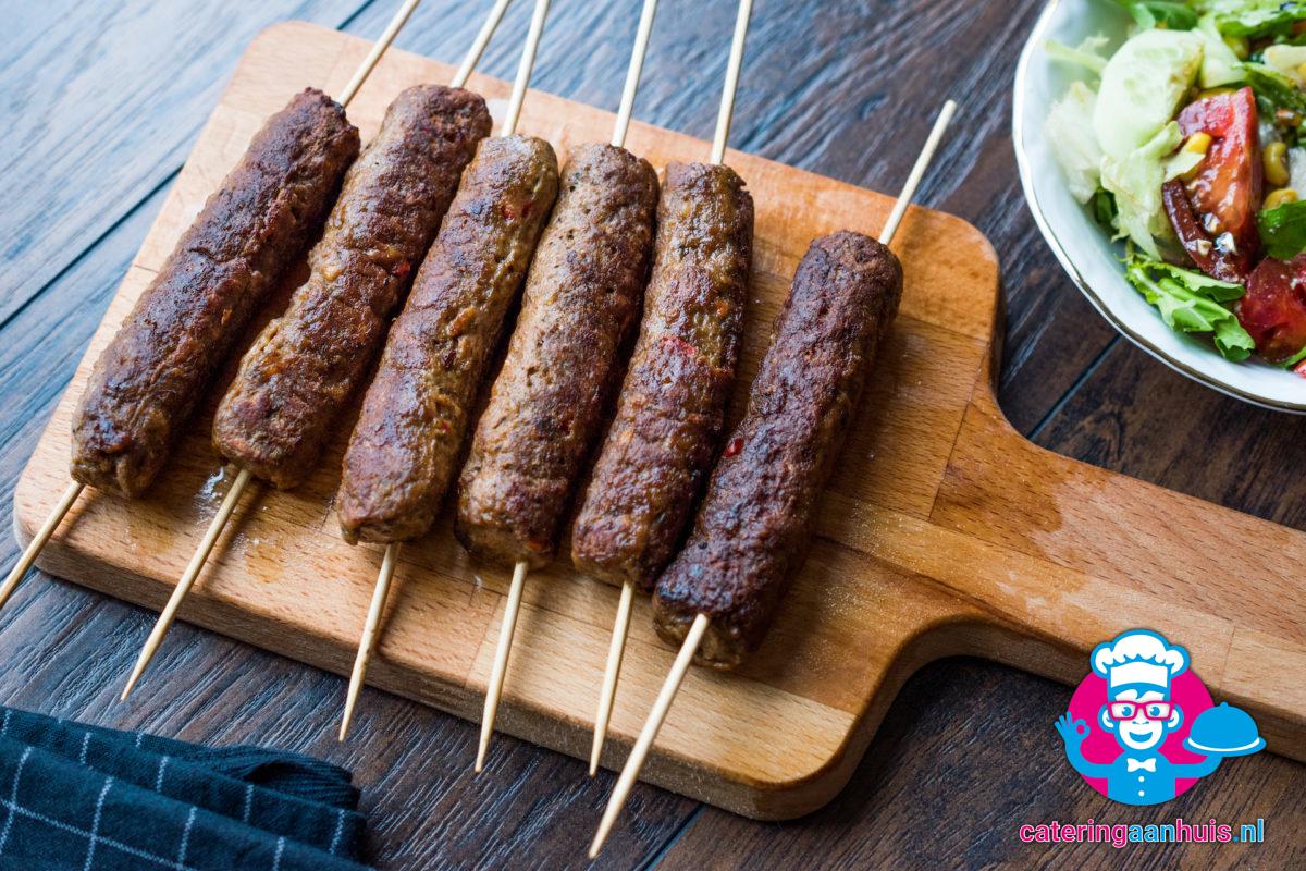 Cevapcici halal balkan hapjes catering aan huis