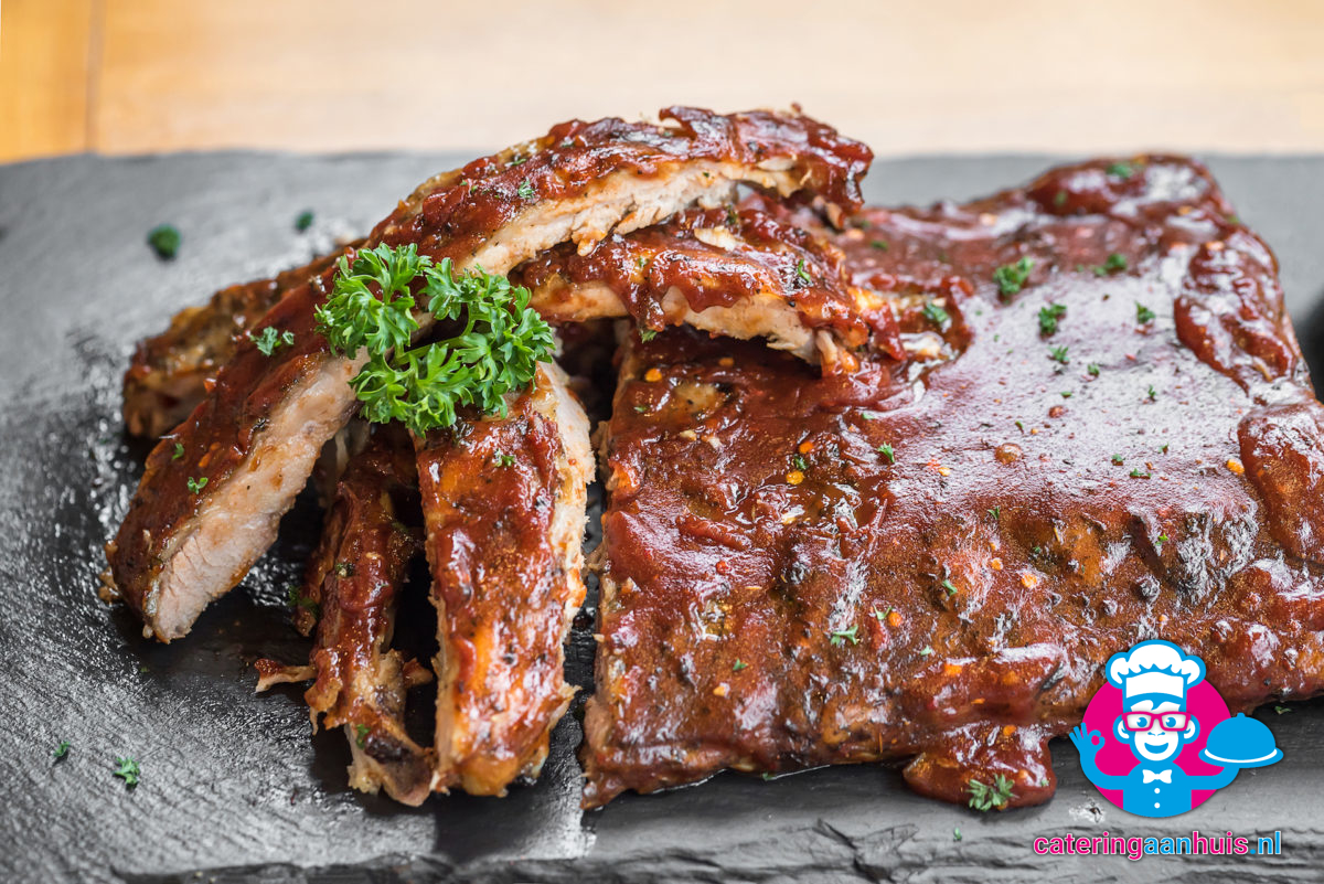 Chili Chileense spareribs - Catering aan huis
