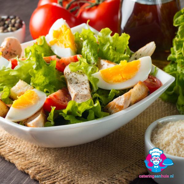 Frisse caesar salade - Catering aan huis