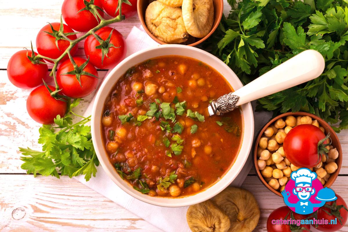 Harira - Marokkaans buffet - Catering aan huis