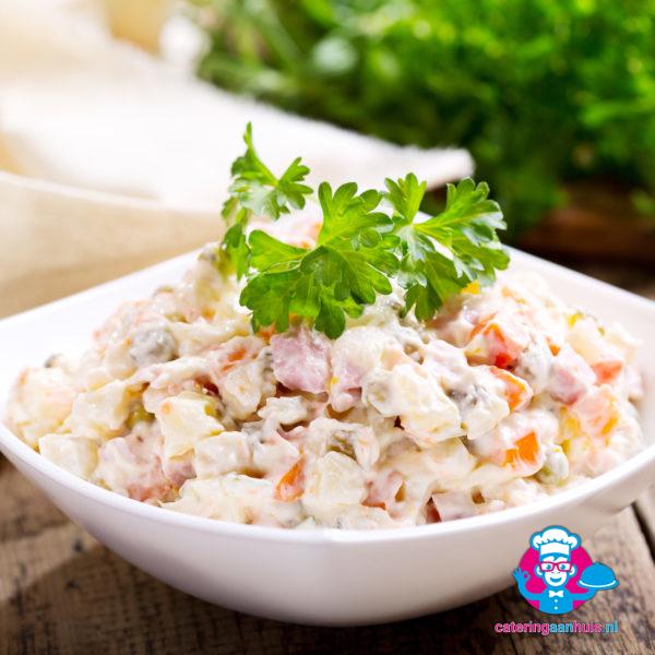 Huzaren saladeschotel - Catering aan huis