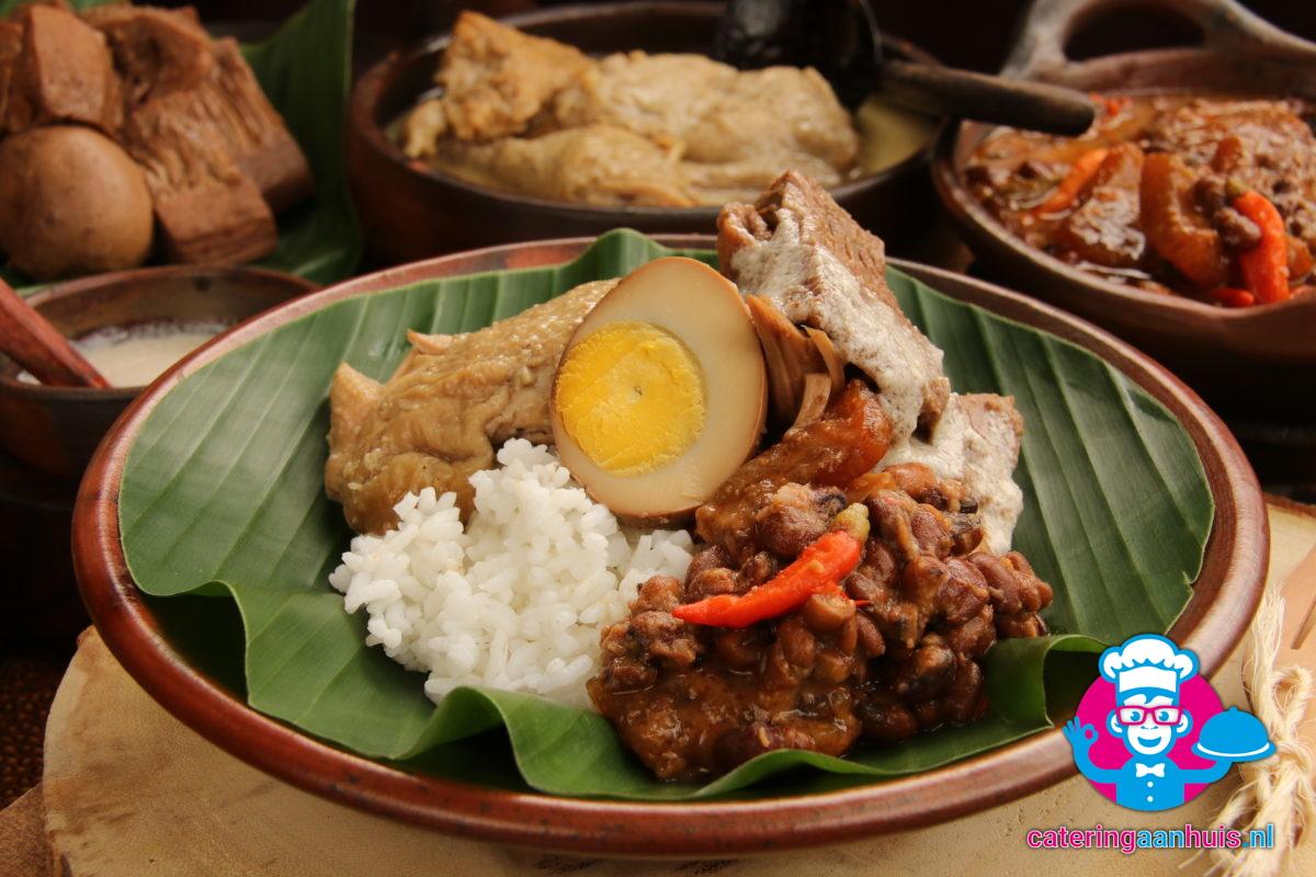 Indonesische buffet - catering aan huis