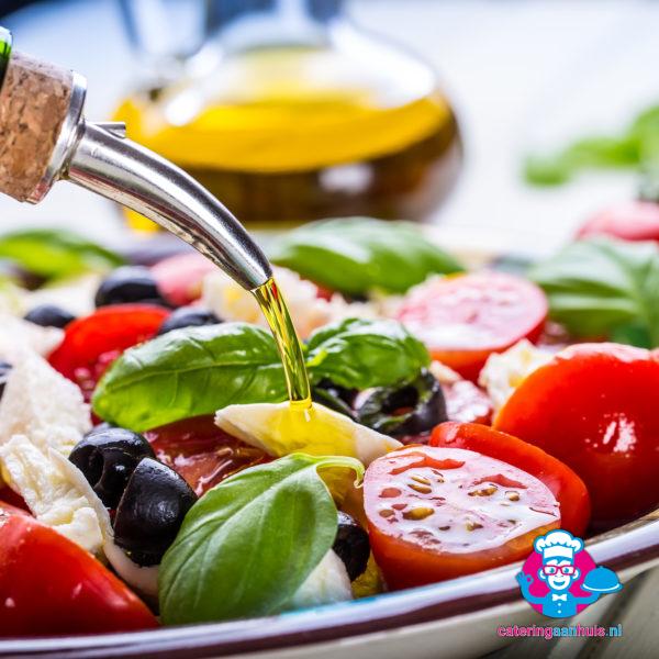 Italiaanse salade buffet catering aan huis