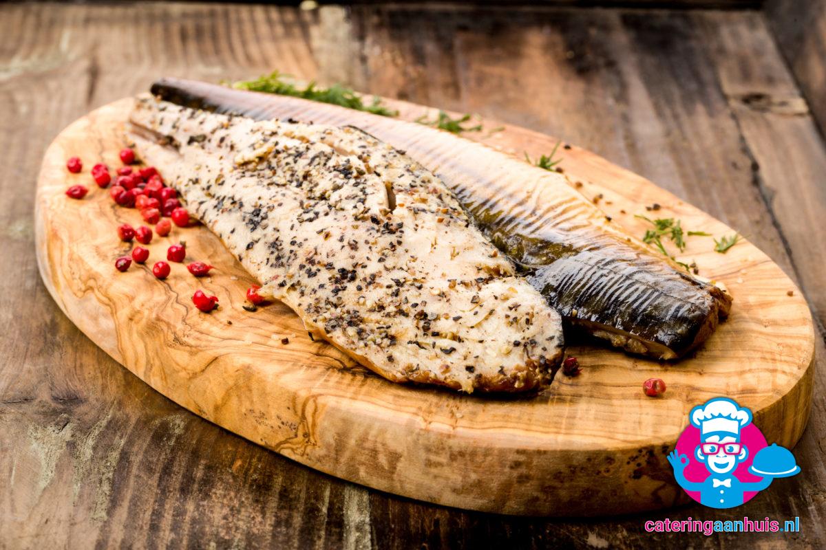 Makreel - Zalm saladeschotel - Catering aan huis