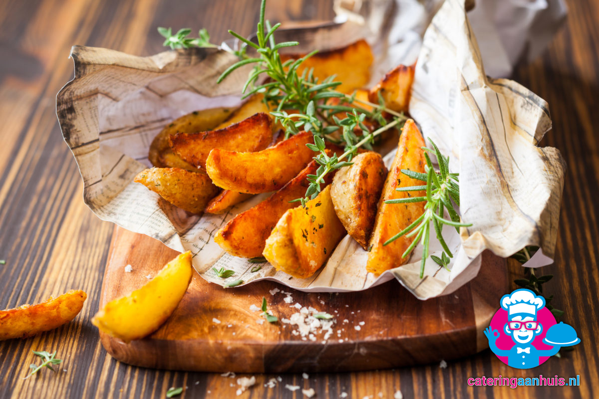 Potato wedges - Amerikaans buffet - Catering aan huis