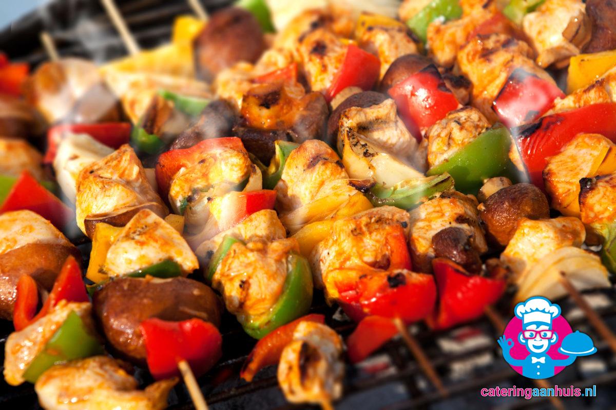 Shaslick barbecue buffet - catering aan huis