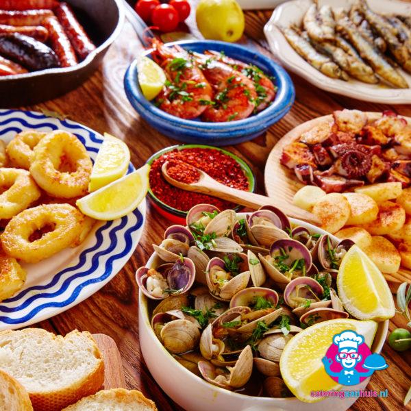 Spaans buffet - Catering aan huis