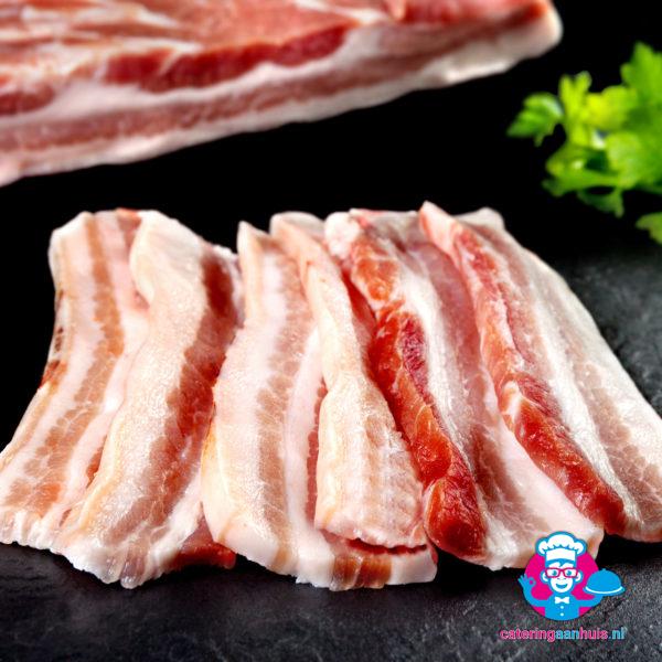 Speklappen - Barbecue vlees - Catering aan huis