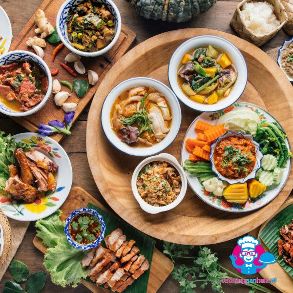 Thais buffet - Catering aan huis