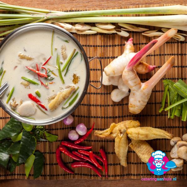 Tom kha kai - Thais buffet - Catering aan huis