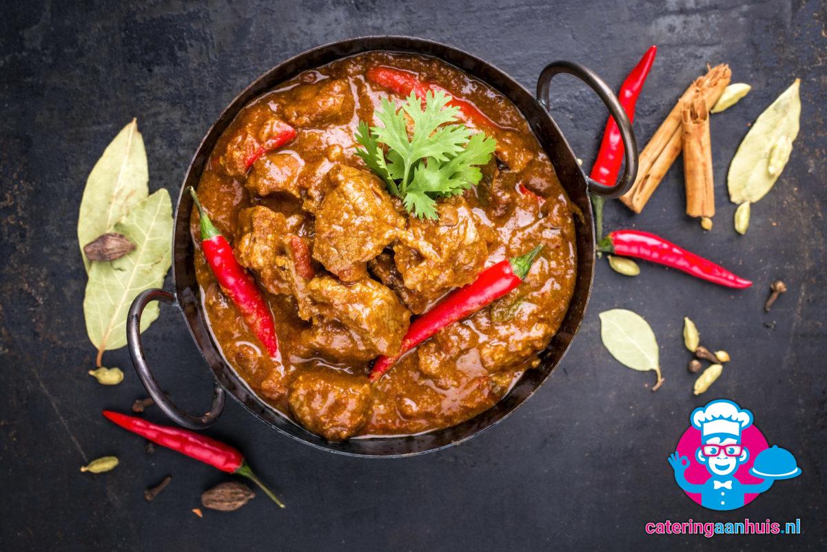 Vindaloo - Indiaas buffet - Catering aan huis