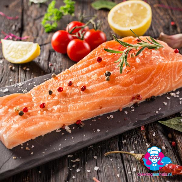 Vis barbecue pakket - Catering aan huis
