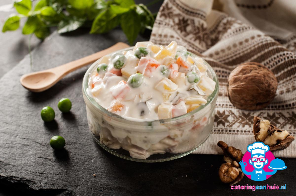 Waldorf saladeschotel - Catering aan huis