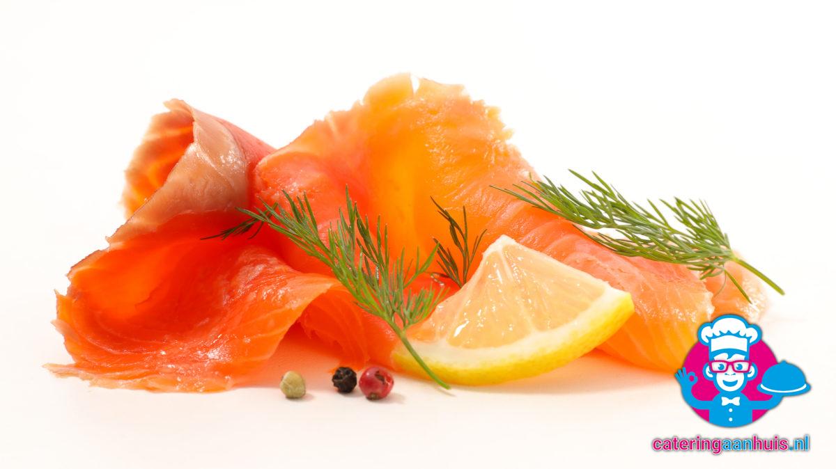 Zalmfilet - Saladeschotel - Catering aan huis