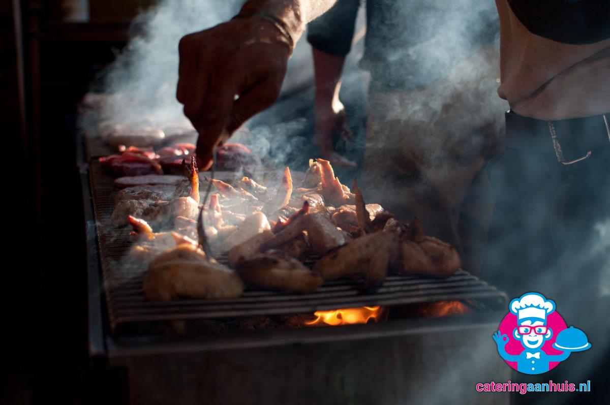 barbecue hapjes - catering aan huis