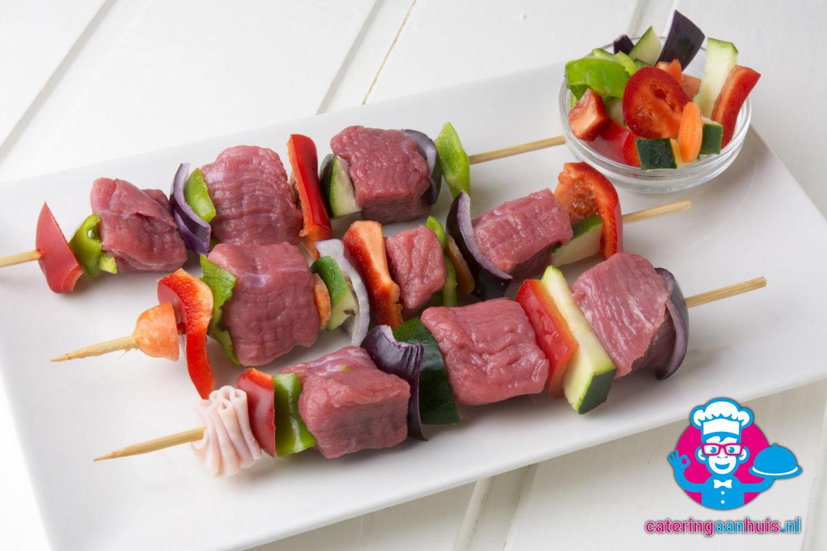 barbecue spiezen - Barbecue vlees - Catering aan huis