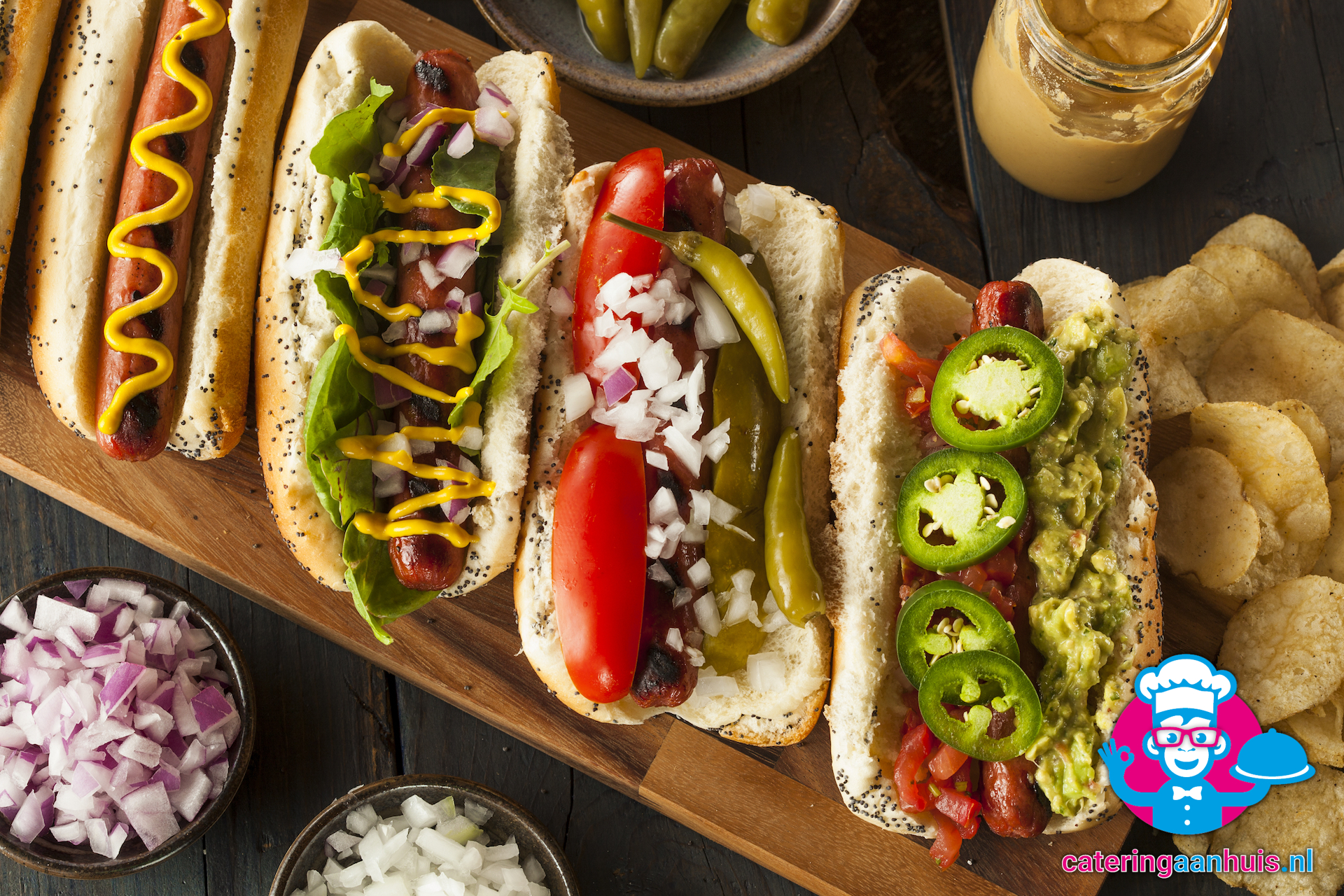 Amerikaanse Mexicaanse Barbecue | Deinums Catering