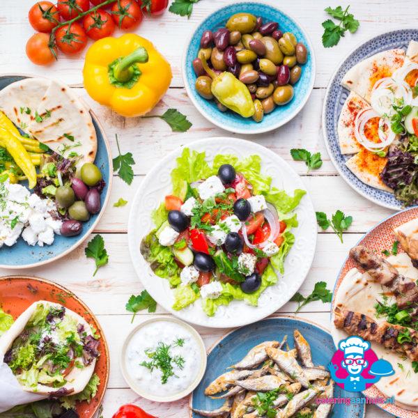 grieks buffet catering aan huis