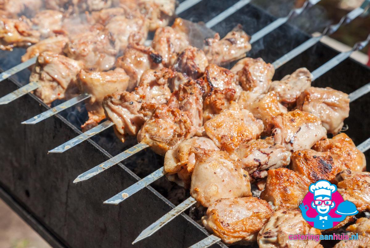 kipsate barbecue buffet simpel - catering aan huis