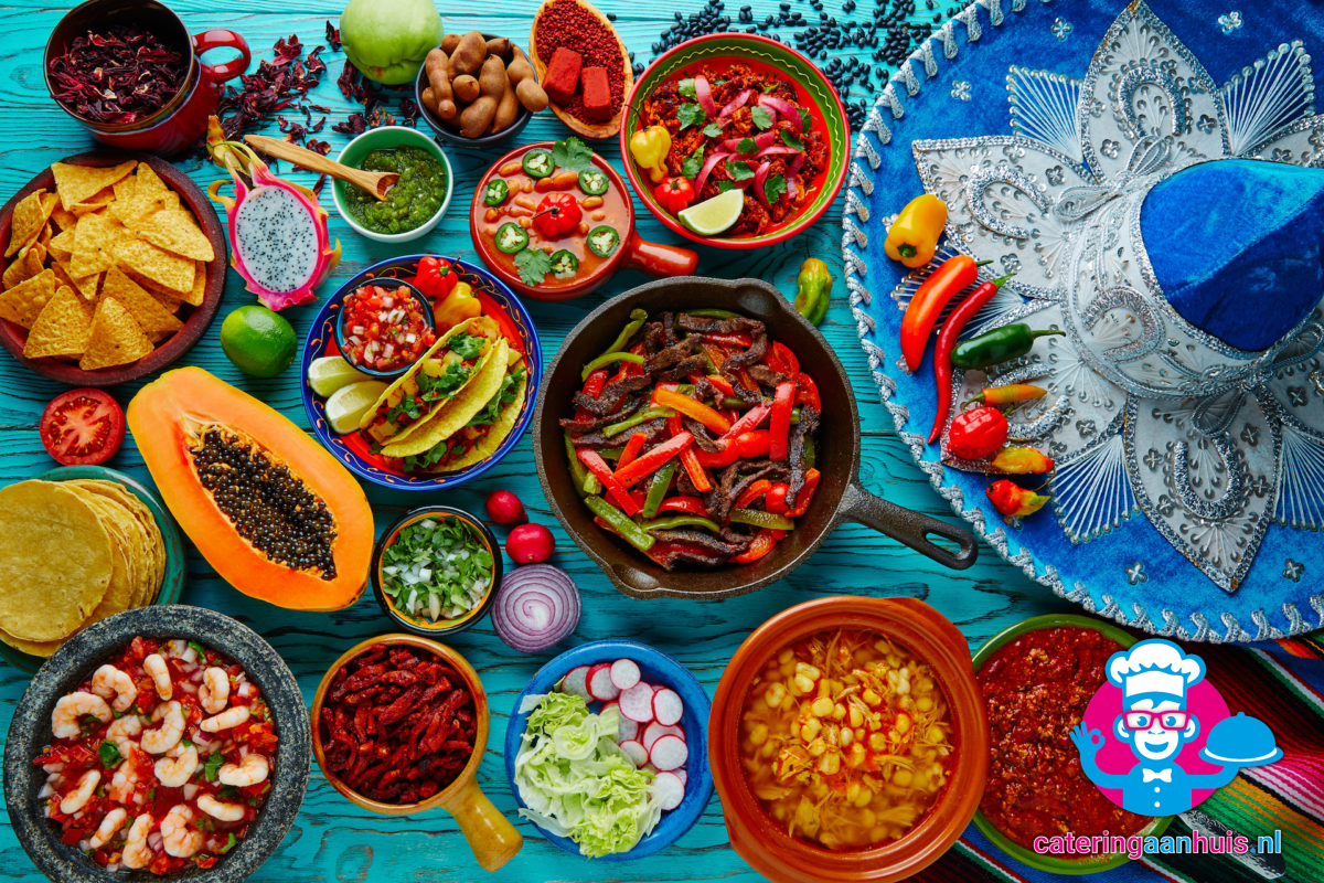 Mexicaans buffet catering aan huis