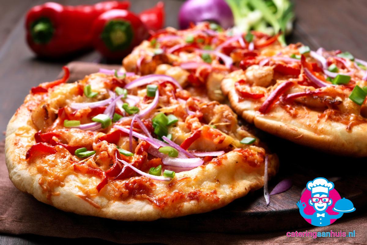 Mini pizza hapjes catering aan huis
