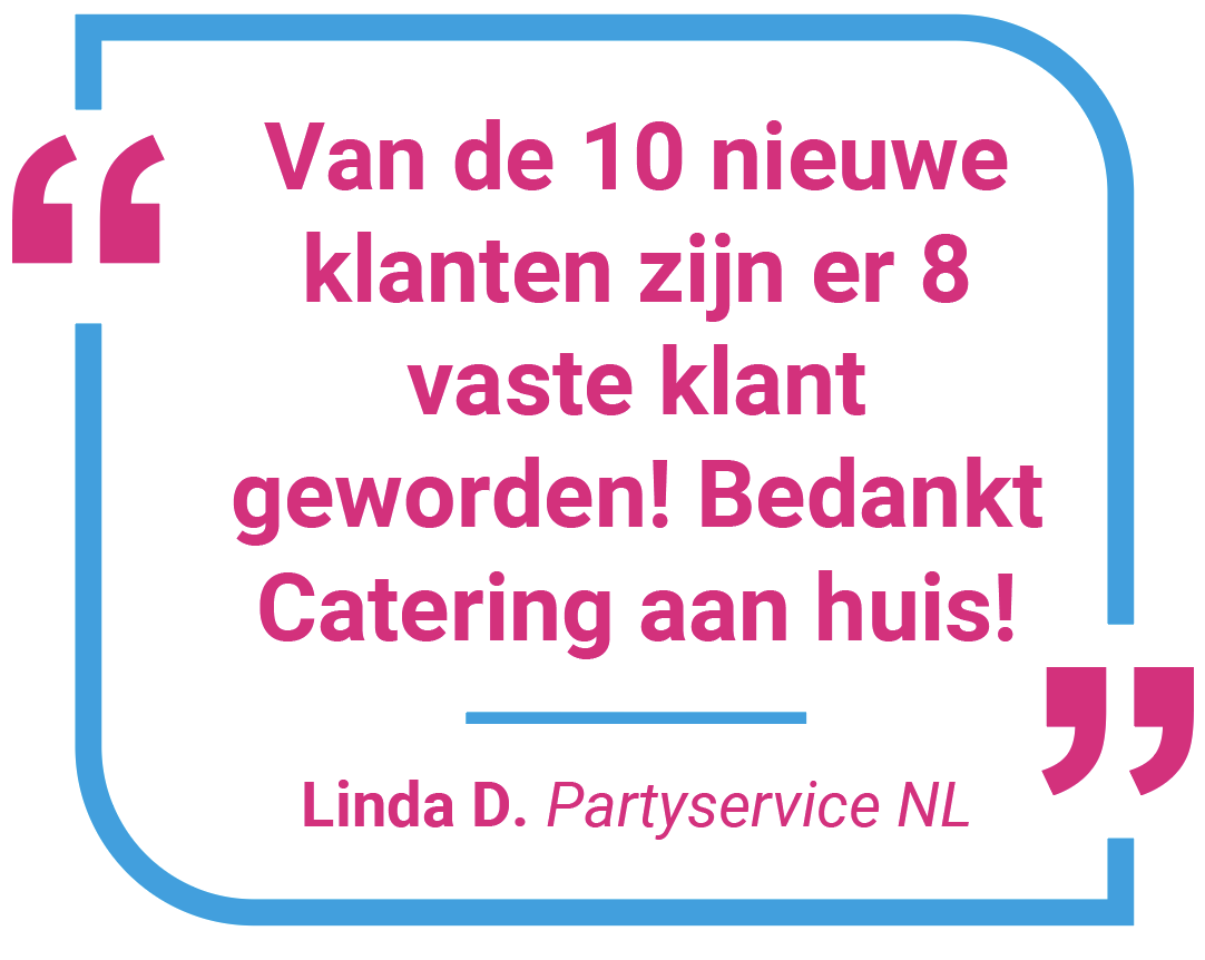 over catering aan huis - Linda Partyservice NL