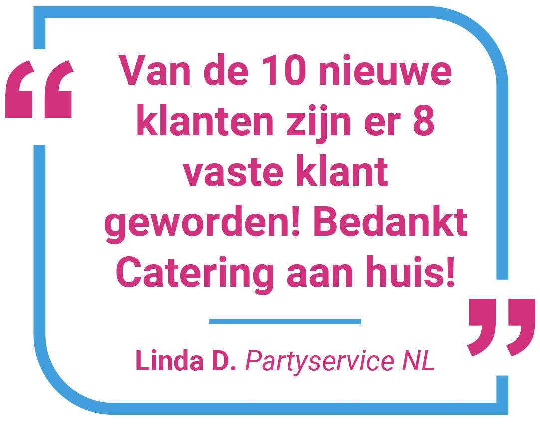 over catering aan huis - Linda Partyservice NL