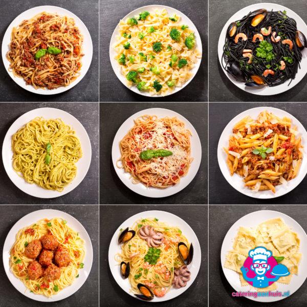 pasta buffet keuze catering aan huis