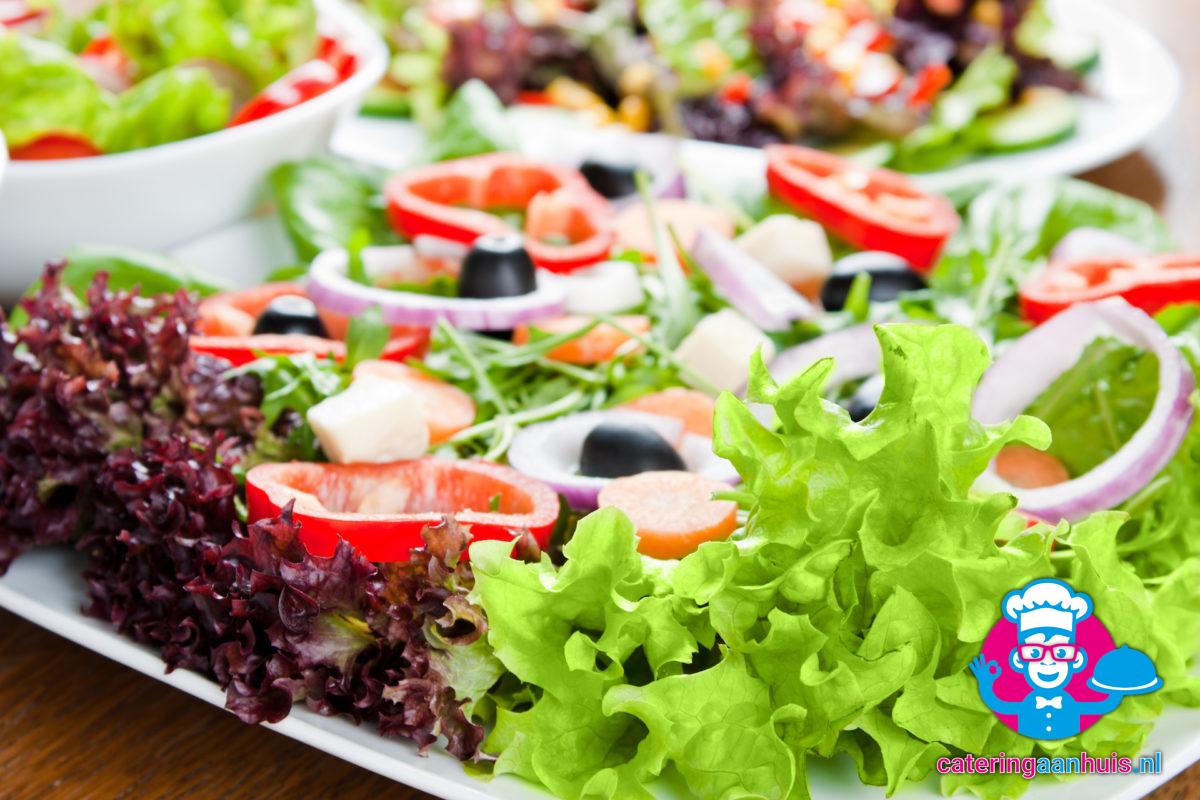 Salade feta - barbecue buffet luxe - catering aan huis