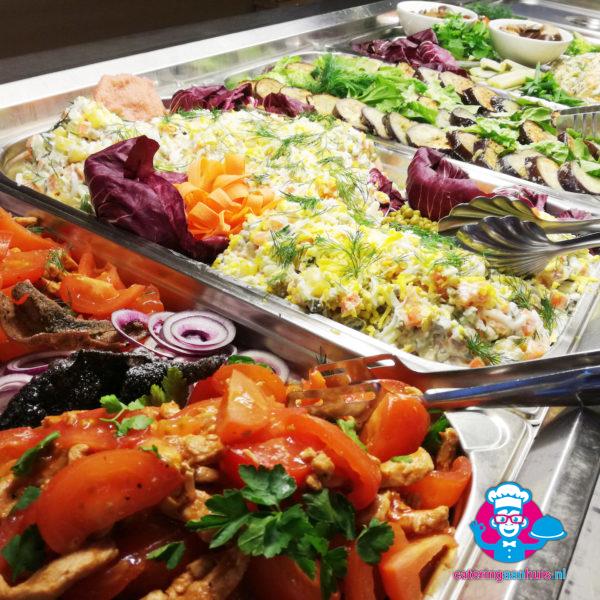 saladebuffet catering aan huis