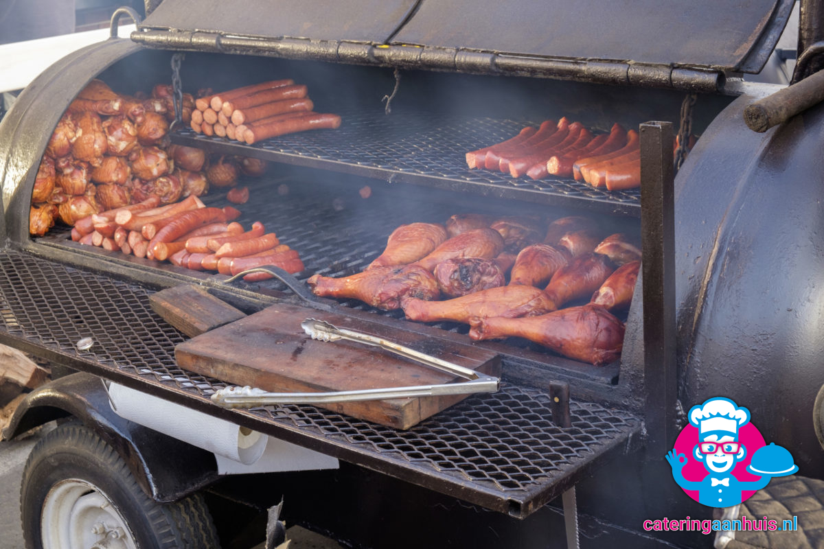 smoker barbecue - catering aan huis
