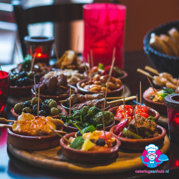 tapas buffet catering aan huis