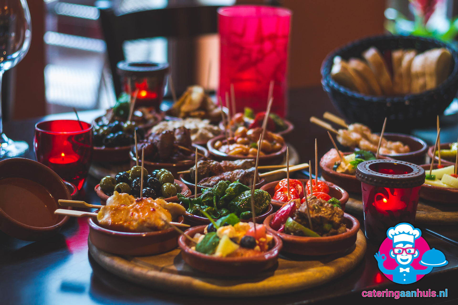 Wonderbaar Tapas buffet ⋆ Catering aan huis ⋆ Catering Aan Huis .NL ZX-61