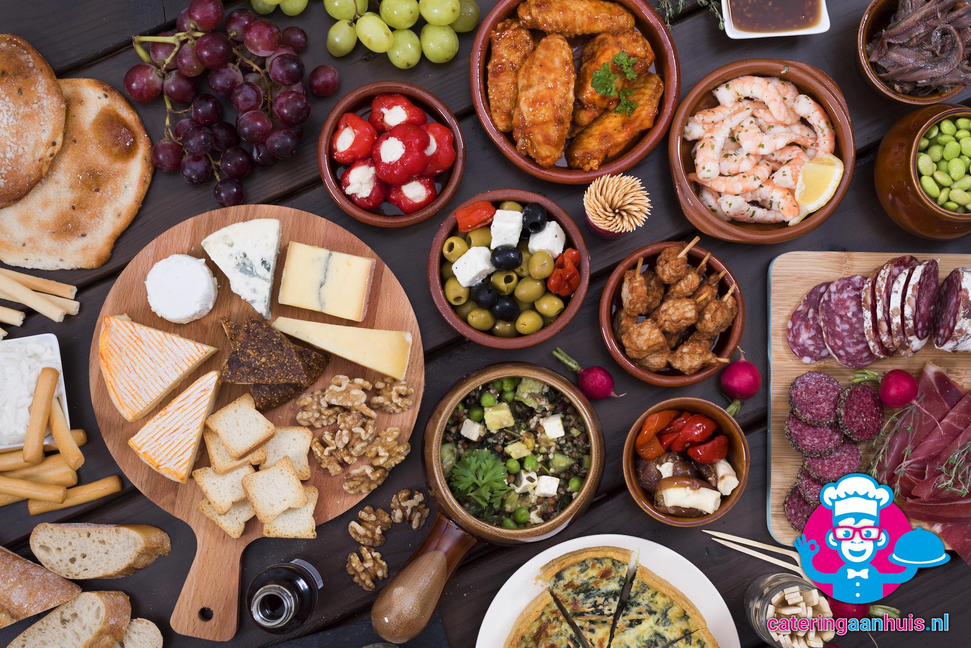 Verwonderend Tapas buffet ⋆ Catering aan huis ⋆ Catering Aan Huis .NL VE-15